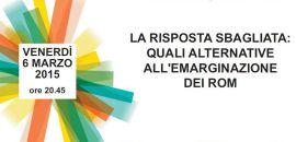 6 marzo incontro sui Rom organizzato da Amnesty