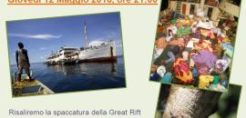 """12 maggio """"Great Rift, una grande traversata africana"""" con Avventure nel mondo"""