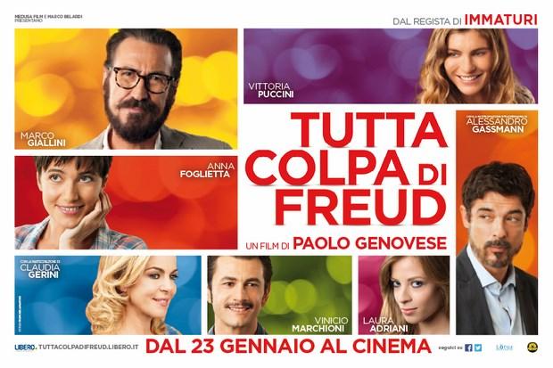"""19 febbraio """"Tutta colpa di Freud"""" proiezione film"""