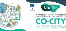 31 marzo presentazione del progtto 'Co-City' a Torino