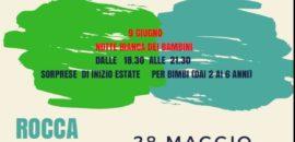 ATTIVITA' ROCCA INCANTATA MAGGIO-GIUGNO BAMBINI 1-6 ANNI