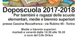 Dal 2 ottobre inizia il Doposcuola in Cascina!