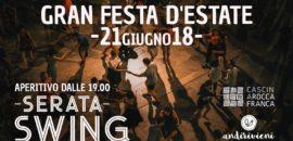 21 GIUGNO Festa d'Estate con musica e balli swing