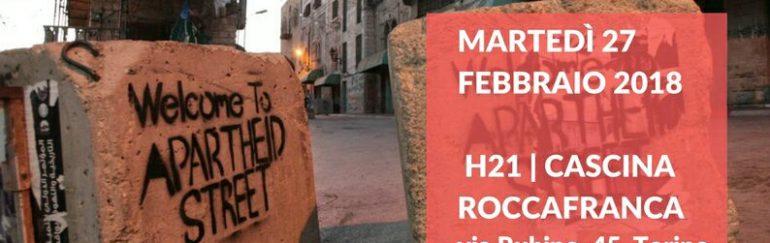 "27 febbraio incontro ""HEBRON. OPEN SHUHADA STREET"""