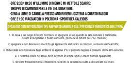 23 febbraio M'illumino di meno in Cascina Roccaranca