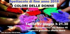 22 giugno  I colori delle donne