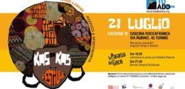 SABATO 21 LUGLIO KAS BA KAS Fest 6° edizione