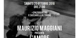 20 ottobre Leggermente incontra Maurizio Maggiani