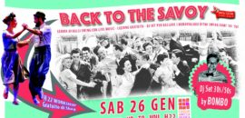 Sabato 26 gennaio Back to the Savoy