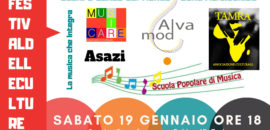 Sabato 19 gennaio  Festival delle Culture, la musica che integra