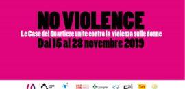NoViolence: Le Case del Quartiere contro la violenza sulle donne