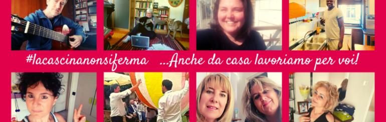 #lacascinanonsiferma: continuiamo a lavorare da casa per voi!