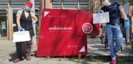 L'Osteria Andirivieni e la caffetteria sono aperte, giovedì e venerdì anche per l'apertivo!