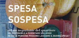 Raccolta prodotti alimentari, donazioni e spesa sospesa a Mirafiori
